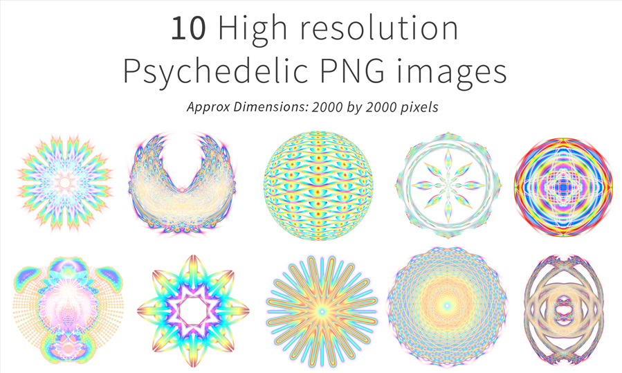 ... stock imagery pack 1-5 / Psychedelic stock imagery pack 1-5: www.digitalvisionaryart.co.uk/product/psychedelic-stock-imagery...